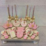 Baby Shower Sugar Cookies & Cake Pops