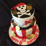 Children Pirate Cake