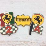Ferrari sugar cookies