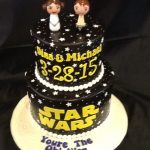 Star Wars Groom's Cake
