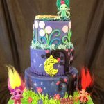 Three tier Zelf cake
