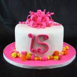 15th Birthday Bow Cake