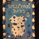Baby Sheet Cake