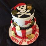 Children Pirate Cake