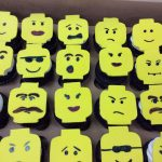 Cupcakes Lego Faces
