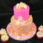 Fantasy Flower Butterfly Cake Cupcakes