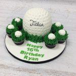 Golf Ball & Cupcakes