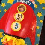 Logan's Rocket Cake