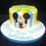 Mickey blue yellow